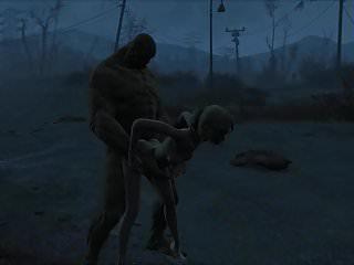 Preview 6 of Fallout 4 Katsu sex adventure chap.5 Supermutant