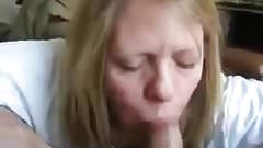 Husband Busts in Wife's Mouth