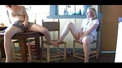 Girls masturbating in the classrom