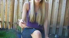 outside smoker