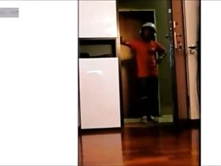 Compilation Of Flashing Delivery Guy