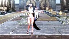 Skyrim sexy dance -Daybreak- HDT (futanari)