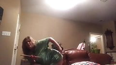 Dani Texas spanks herself for Daddy