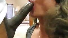 CD Sucking A Huge Black Cock
