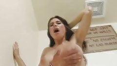 Backroom Fuck with a latina milf