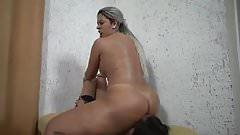 BBW Ass Licking