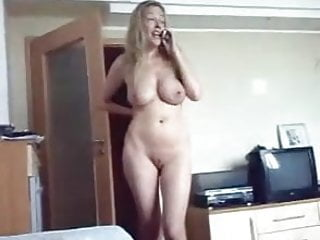 Blonde buxom porn - Amatuer - puffy buxom blond on the phone