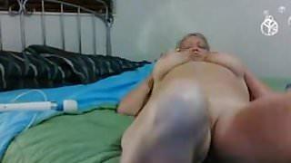 Granny boobs solo