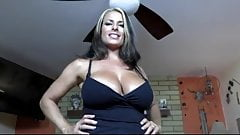 Cum on big tits milf POV
