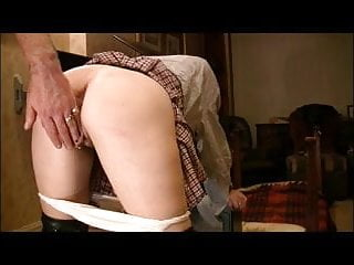 Caned and Fucked for wearing Knickers