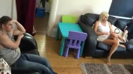 flashing Mature son mom
