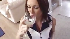Cum wife drinker