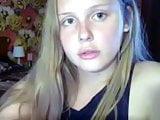 Blonde teen Russian shemale dick jerking