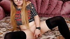 -  18yo hot redhead with glasses 1