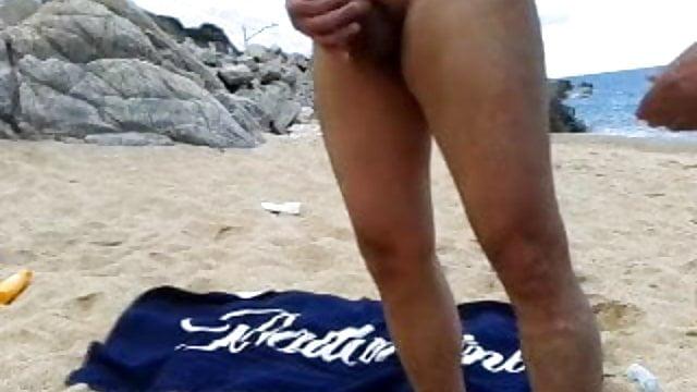 Viejos Abuelos Gays Desnudos En La Playa