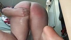 Male Self Spank and Soap
