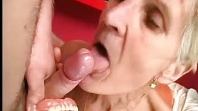 Granny Takes Young Cock