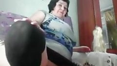 Spread Those Legs & Tits Grandma!