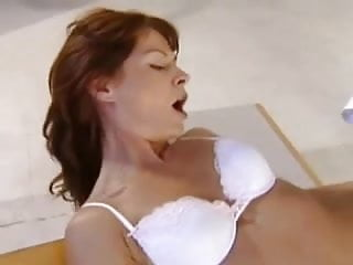 Redhead german milf with perfect body fucked