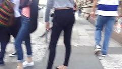 Black pants sexy ass