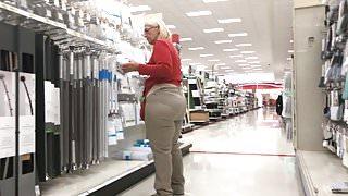 Plump Butt Gilf Target Employee Pt 3