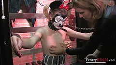 FrenzyBDSM Two Girls Sadistic Nipple Domination's Thumb