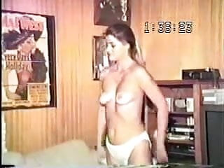 Preview 1 of Old VHS Tape Of Old Fat Guy Fucking His Lovely Young Wife !