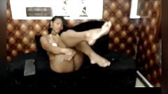 Ebony Chick with PERFECT soles SHORT BUT SWEET