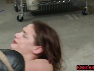 Preview 5 of Tied girl gets punished by her master with butplug and more!