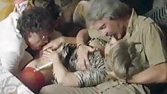 80s blonde wife fucks 2 cocks