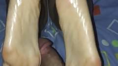 Footjob Colombiana 5