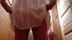 Girl open crotch hidden voyeur Maedchen beim Pinkeln