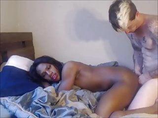 Ebony Tranny Pounded Sensually In Her Asshole