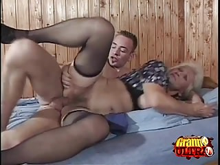 Preview 1 of Young Cock For A Horny Granny