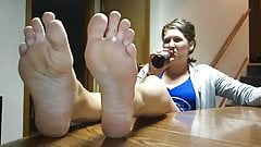 Feet and Beer