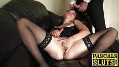 Hot old gal wants to be fucked hard and rough by her master