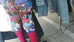 Cartoon leggings VPL