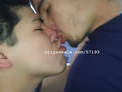 Bae Cupid and Iago Downey Kissing Video 3