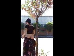 Long Skirt Outdoors