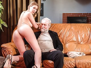 Xxx Shades Blonde Doll Sex Adventure With Old Grandpa