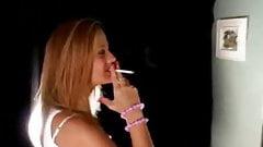 Sexy Smoking Blonde 3