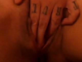 Fingering my wet cunt until I cum hard
