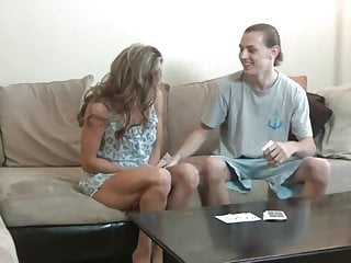 Stepmom & Stepson Affair 78 (Strip Poker With NOT Mommy)
