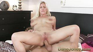Dane Jones Pussy pounding cowgirl riding passionate couple