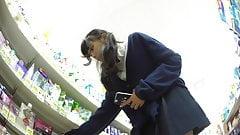 Hiroimono. JK upskirt. wetP,hair,lip