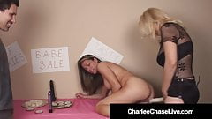 Cock Craving Cougar Charlee Chase & Allura Skye Suck Dick!