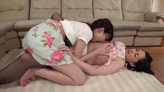 Shuri Atomi Dominates Lesbians 12 (Extended)