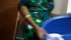 Flashing dick indian maid