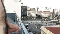 Hotel Room Jerking Off Balcony View