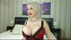Bimbo slut with huge boobs